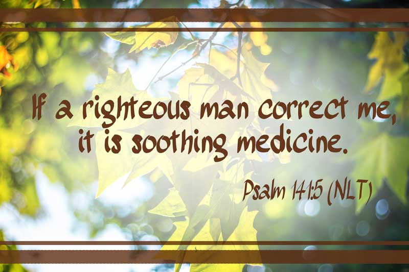 Righteous Correction