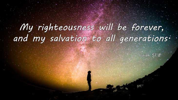 Gods Steadfast Salvation - Isaiah 51:8