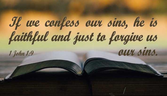 He Is Faithful to Forgive - 1 John 1:9