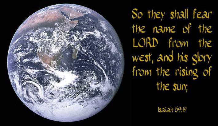 Fearing God the World Around - Isaiah 59:19
